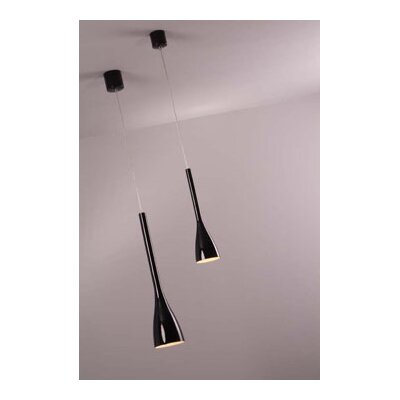 PLC Lighting Pius 1 Light Mini Pendant