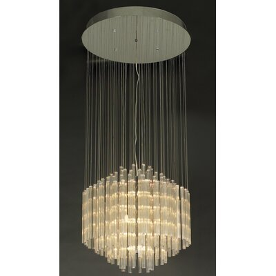 PLC Lighting Entourage 18 Light Pendant