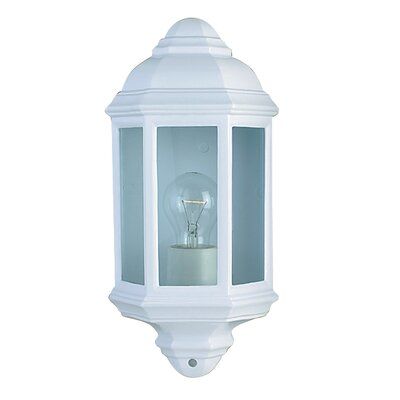 Searchlight Outdoor and Porch Half Wall Bracket in White