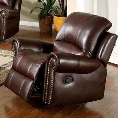 Sedona Leather Chaise Recliner