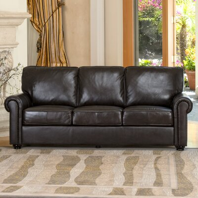 Bliss Faux Leather Sofa