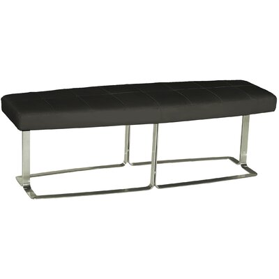 Bellini Modern Living Megan Leather Bench