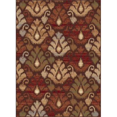 Festival Brown Ikat Rug
