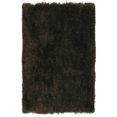 L.A. Rugs Super Shag Brown Rug