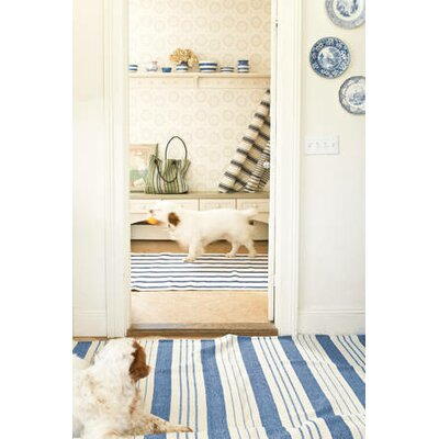 Dash and Albert Rugs Woven Awning Stripe Rug