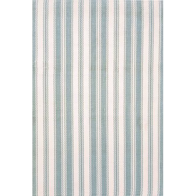 Woven Light Blue/Ivory Rug