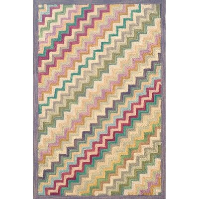 Dash and Albert Rugs Hooked Steps Rug