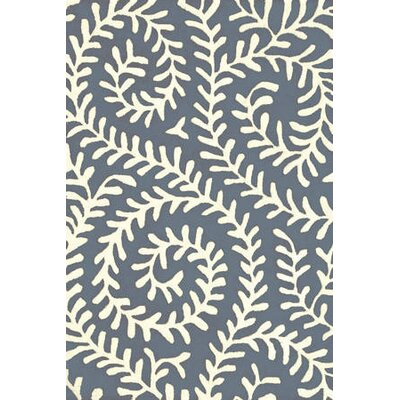 Dash and Albert Rugs Tufted Vine Denim Rug