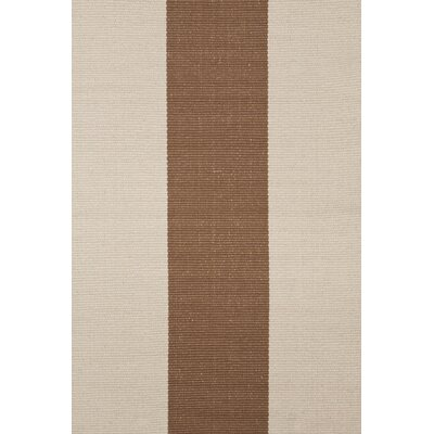 Dash and Albert Rugs Woven Yacht Stripe Stone Stripe Rug