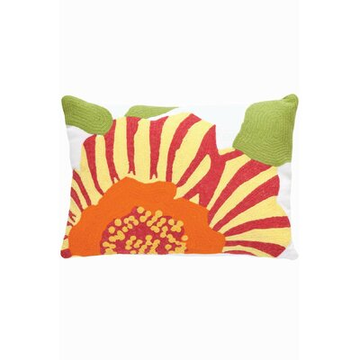 Dash and Albert Rugs Fresh American Flower Polypropylene Pillow