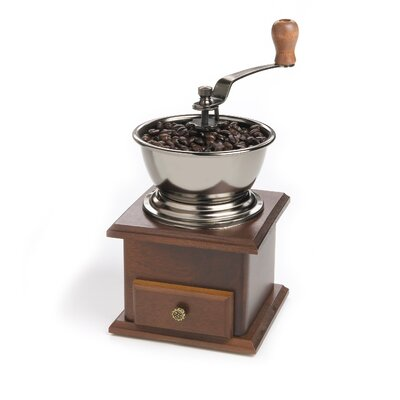 Fox Run Craftsmen Classic Coffee Grinder with Crank Handle