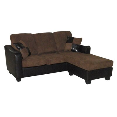 Hazelwood Home Convertible Sleeper Sofa