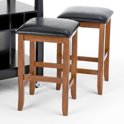 Perfect Fit Counter Height Backless Barstool in Java