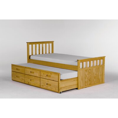 All home pajama single storage bed frame with trundle for Furniture zone beds