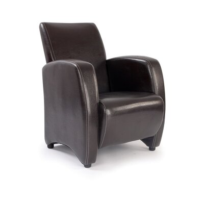 Enduro Metro Single Seat Stylish Arm Chair in Brown