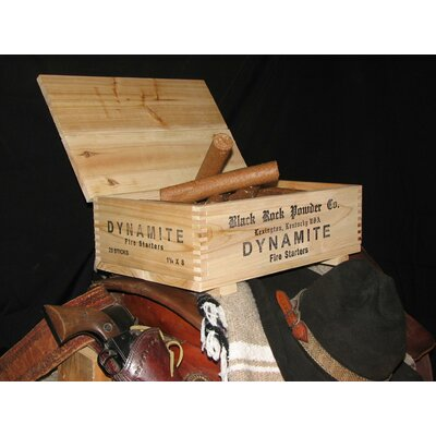 Black Rock Powder Company DYNAMITE Crate & Fire Starters