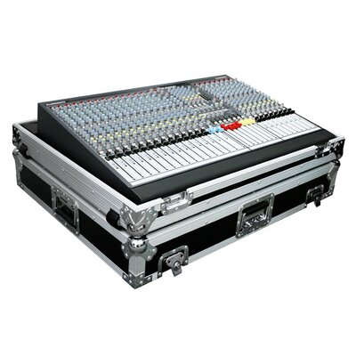 Road Ready Cases Mixer Case For A&H Gl2400 424 Mixer with Wheels