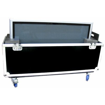 "Road Ready Cases 42"" Universal Plasma Monitor Case with Casters"