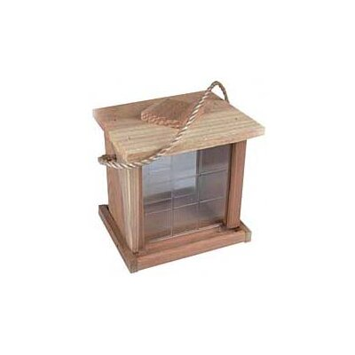 North States 2 Lb Capacity Redwood Hanging Feeder