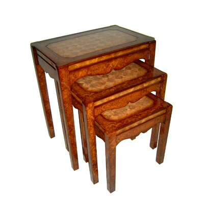 Cheungs Rattan 3 Piece Nesting Tables