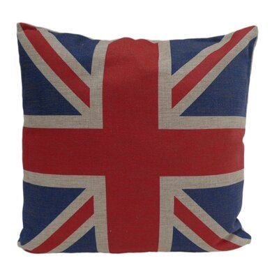 Cheungs Union Jack Linen Pillow