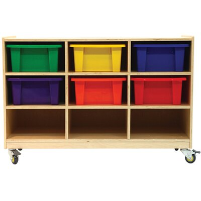 A+ Child Supply Nine Shelves Organizer