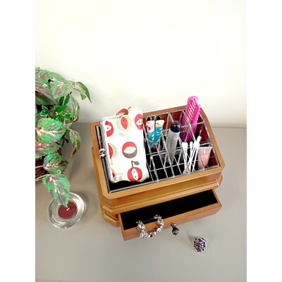 Proman Products Bellissimo Rome Cosmetic Organizer