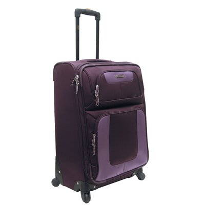 "Oleg Cassini Lucas Radar 27"" Expandable Spinner Suitcase"