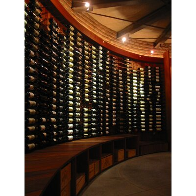VintageView WS4 Series 24 Bottle Wall Mounted Wine Rack