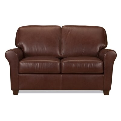 World Class Furniture Kathy Leather Loveseat