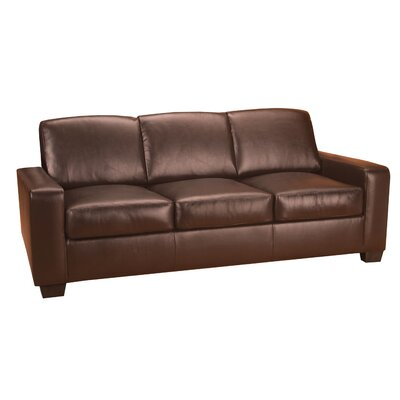 World Class Furniture Mabel Leather Living Room Set