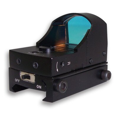 Compact Tactical Red Dot ReflexSight in Black