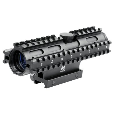 4x32 Compact Scope 3 Rail Sighting System / P4 / Weaver Mount / in Blue ...