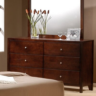 Dalton 6 Drawer Dresser