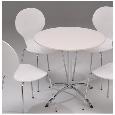 Furniture Link Soho Round Table in White - 90cm