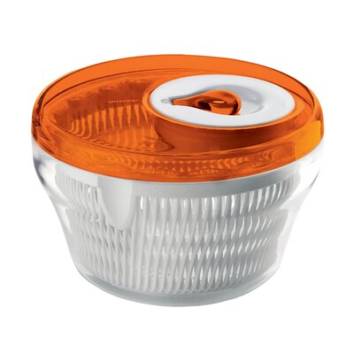 "Guzzini Latina 8"" Salad Spinner in Orange"