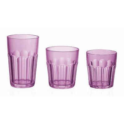 "Guzzini Happy Hour 4"" Tumbler in Violet"