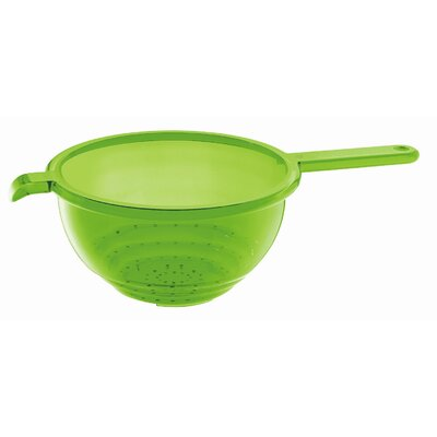 Guzzini Latina Colander with Handle in Green