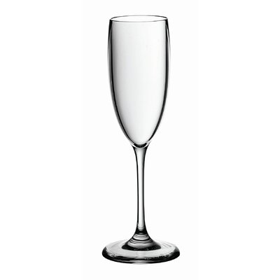 Guzzini Happy Hour Flute Glass in Clear