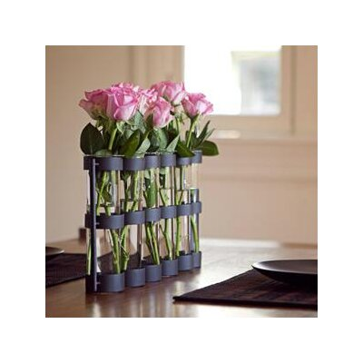 Danya B Large Six Tube Hinged Vase