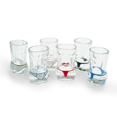 Danya B Male Torso Hunk Shot Glass (Set of 6)
