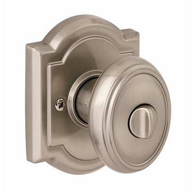 Kwikset Carnaby Bed and Bath Knob