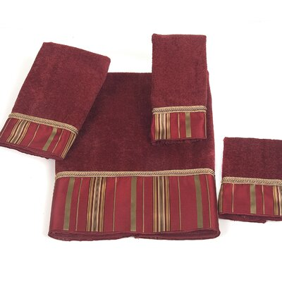 Monet 4 Piece Towel Set