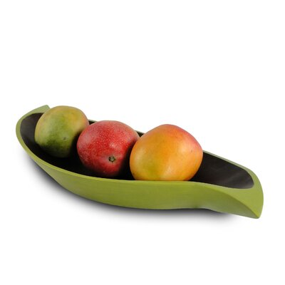 Enrico Curry Leaf Serving Tray
