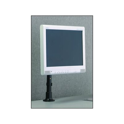 "Peerless Height Adjustable Desktop Mount for 10"" to 22"" Screens VESA 75/100 Adapter Plate"