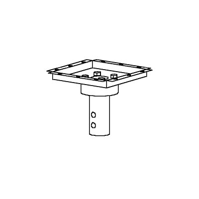 Peerless Structural Ceiling Decoupler