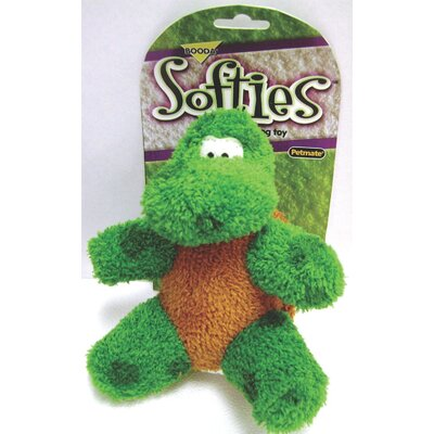 BOODA Pet Products Softies Terry Toby Turtle Dog Toy