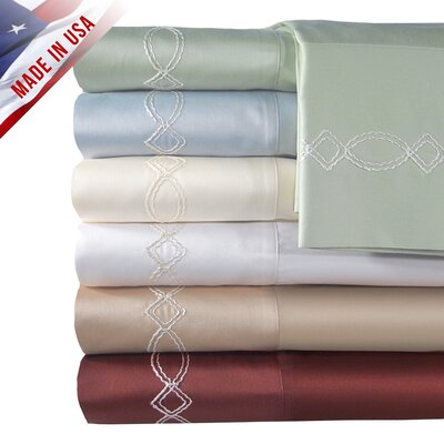 Veratex, Inc. Supreme Sateen 500 Thread Count Chain Sheet Set