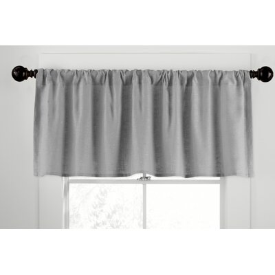 Veratex, Inc. Gotham Ramie Linen Rod Pocket Tailored Curtain Valance