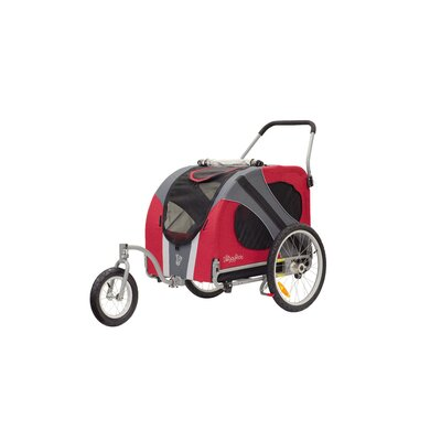 Novel Dog Jogger / Stroller in Urban Red